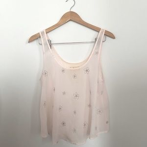 Pale Pink Hollister Tank